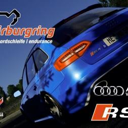 Assetto Corsa - MOD - Audi RS4 B8 Avant @ Nürburgring Nordschleife Endurance - PC 60FPS