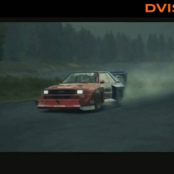 DiRT 3 [Audi Quattro S1 Pikes Peak - 3 stages in Finland]