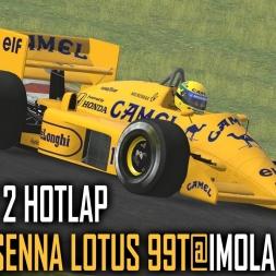 rFactor 2 : Ayrton Senna Lotus 99T @ Imola