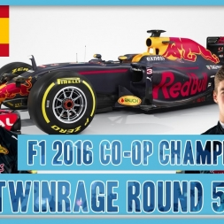 TwinRaGe Youtube Co-op Championship F1 2016 - Round 5 Spain