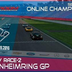 RaceRoom   GTR3/S1: Online Championship`16 (R3/Race-2 Hockenheimring)