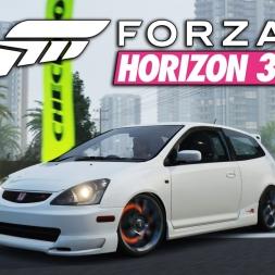 Forza Horizon 3 | Street Race | 2004 Honda Civic Type R