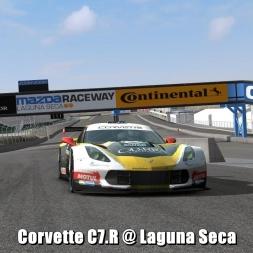 Corvette C7.R @ Laguna Seca - Automobilista 60FPS