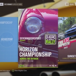 Forza Horizon 3: Across the Outback Custom Championship