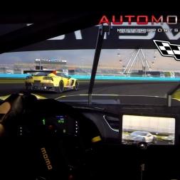 Corvette C7.R @Daytona. Automobilista. AccuForce. Triple Screens.