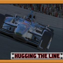 """iRacing: Hugging the Line"" (Verizon IndyCar Series - 2016S4 - Round 2 - Texas Motor Speedway)"