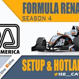 iRacing Formula Renault 2.0 @ Road America | Setup & Hotlap 2'04.043 | Season 4 - 2016