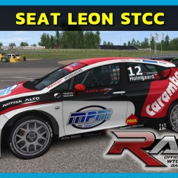 RACE 07 - Seat Leon STCC at Knutstorp (PT-BR)