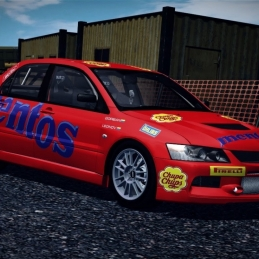 WRC 2: FIA World Rally Championship [Mitsubishi Lancer Evo IX - Berlin Urban Rally]