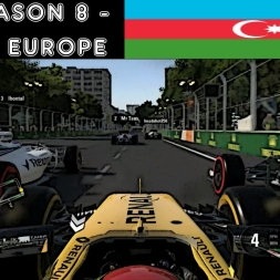 F1 2016 - F1XL Season 8 - Race 3: Europe