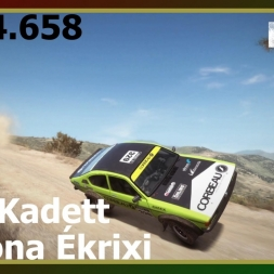 Dirt Rally - Opel Kadett - Pomona Ékrixi