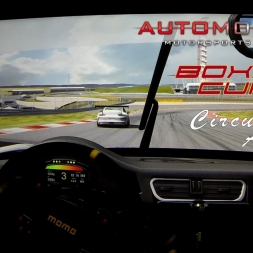 Boxer Cup @Circuit of the Americas. Automobilista. AccuForce. Triple Screens.