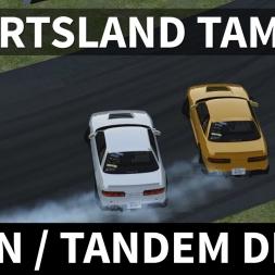 Nissan S13 RocketBunny Twin / Tandem Drift | Assetto Corsa [Oculus Rift CV1 + T300RS]