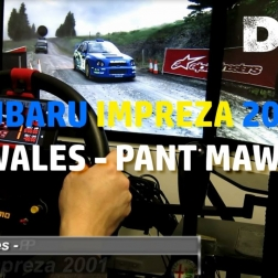 Dirt Rally - Wales - Pant Mawr - Subaru Impreza 2001