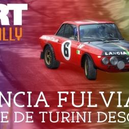 DiRT Rally | Route de Turini Descente, Monte Carlo - Lancia Fulvia HF