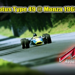 Assetto Corsa | Lotus Type 49 @ Monza 1966 | Ultra Graphics (GTX 1070 Strix 8GB)