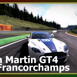 Project Cars - Aston Martin V8 Vantage GT4 - Spa-Francorchamps