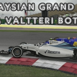 F1 2016 - Malaysian Grand Prix - 50% - Valtteri Bottas