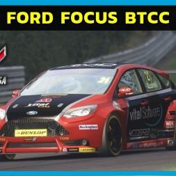 Assetto Corsa - Ford Focus BTCC at Brands Hatch (PT-BR)
