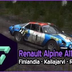 DIRT RALLY | | RENAULT ALPINE A110 | KAILAJARVI - RAIN | GAMEPLAY ESPAÑOL