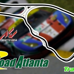 Assetto Corsa - MOD - Ferrari 488 GT3 @ Road Atlanta - PC 60FPS