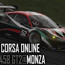 Assetto Corsa [ONLINE] : Ferrari 458 GT2 @ Monza