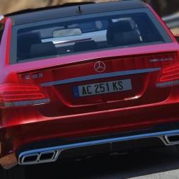 Assetto Corsa - Mercedes-Benz E63 AMG - Graphics mod Gameplay 2k