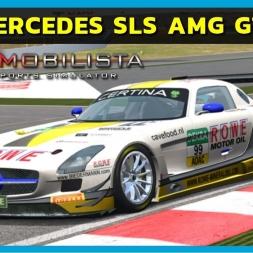 Automobilista - Mercedes-Benz AMG SLS GT3 at Barcelona (PT-BR)