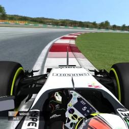 rFactor F1 2016 Perez Onboard Malaysia