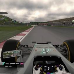 F1 2016 Hamilton Onboard Malaysia