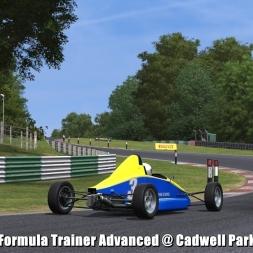 Formula Trainer Advanced @ Cadwell Park - Automobilista 60FPS