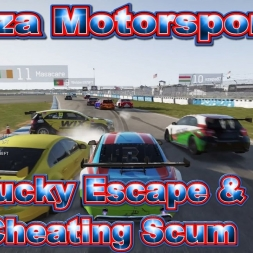 Forza Motorsport 6: Lucky Escape & Cheating Scum