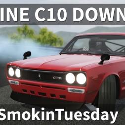 Nissan Skyline C10 Drifting Dragon Range #TyreSmokinTuesday | Assetto Corsa [Oculus Rift CV1]