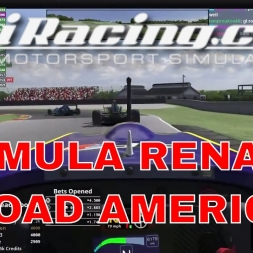 iRacing Formula Renault 2.0 at Road America - Solid Drive from back of grid