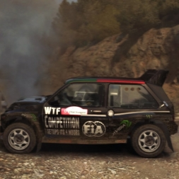 "DIRT RALLY-Testando ""RFPE Project 0.2"" Excelente Mod  (PT)"