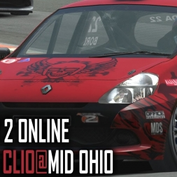 rFactor 2 [ONLINE] : Renault Clio Cup @ Mid Ohio