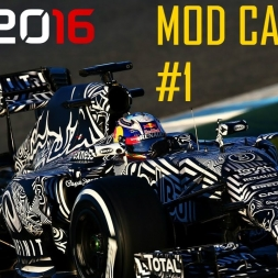 F1 2016 Mod Career (Red Bull): Part 1 Australia
