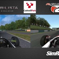 Automobilista VS. rFactor 2 @ Cadwell Park - Formula Trainer/Formula Ford