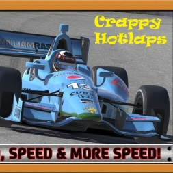 """iRacing Crappy Hotlaps - Speed, Speed and More Speed!"" (Dallara DW12 at Mosport)"