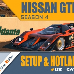 iRacing Nissan GTP ZX-T @ Road Atlanta | Setup & Hotlap 1'11.148 | Season 4 - 2016