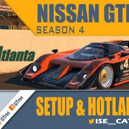iRacing Nissan GTP ZX-T @ Road Atlanta | Setup & Hotlap 1'11.148 | Season 4 - 2016