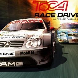 ToCA Race Driver 2 [DTM AMG Mercedes SLK - Eurospeedway Lausitz] [PC GamePlay]