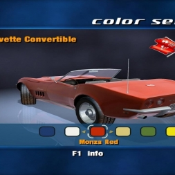 Corvette [1969 Convertible - High Plains Airbase] [PC GamePlay]