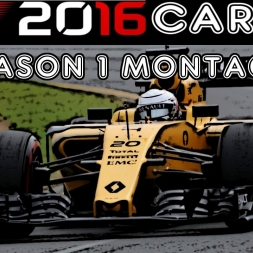 F1 2016 Career - Season 1 Montage!