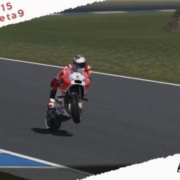 GP Bikes Beta 9 Ducati GP15 Test New Modern Riding Style