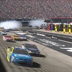 Toyota Camry @ Bristol Motor Speedway - NASCAR Heat Evolution 60FPS