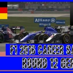 F1 2016 Career Mode Sauber - Round 12 Germany 5 Stop Mayhem