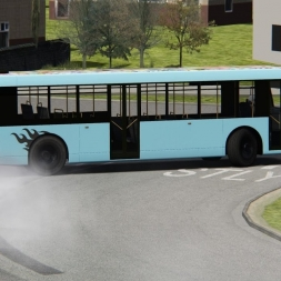 Crazy Bus Driver | Assetto Corsa | Pudsey Street Circuit