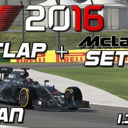 F1 2016 | Setup + Hotlap | McLaren | Japan | 1.36,021 [PC]