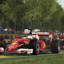 Ferrari SF16-H @ Melbourne - F1 2016 60FPS